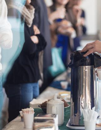 Catering aziendali roma coffee break
